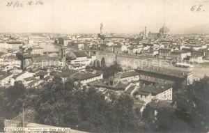 AK / Ansichtskarte Firenze_Toscana Panorama dal Viale dei Colli Firenze Toscana
