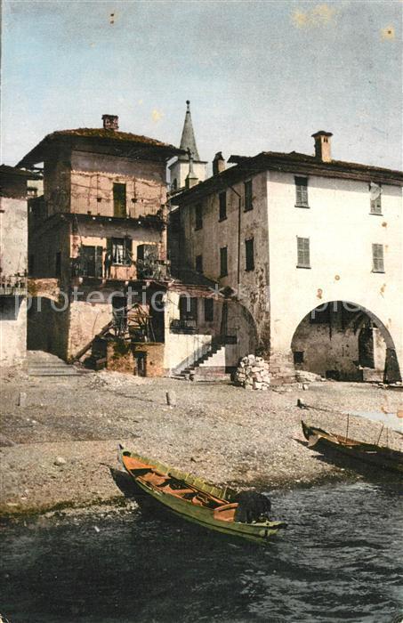 AK / Ansichtskarte Isola_Pescatori_Lago_Maggiore Stadtpanorama