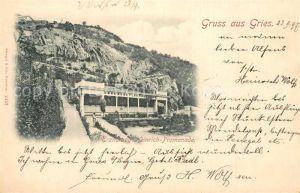 AK / Ansichtskarte Gries_Brenner Erzherzog Heinrich Promenade Gries Brenner