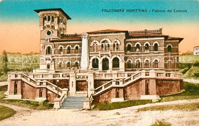 AK / Ansichtskarte Falconara Palazzo del Comune Falconara