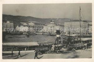 AK / Ansichtskarte Trieste Molo San Carlo Trieste