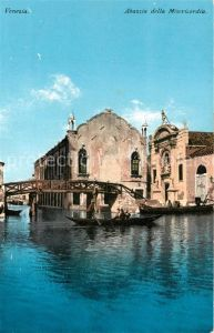 AK / Ansichtskarte Venezia_Venedig Abazzia della Misericordia Venezia Venedig