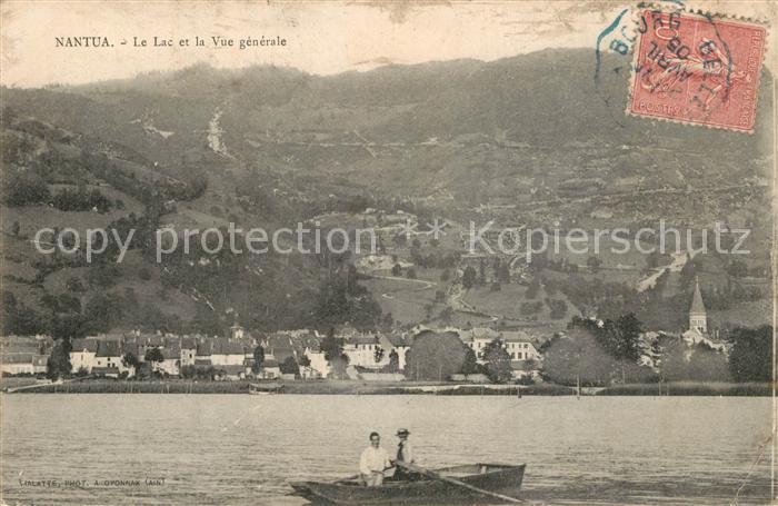 AK / Ansichtskarte Nantua Le Lac et la Vue generale Nantua