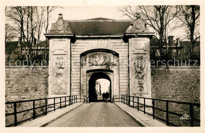 AK / Ansichtskarte Longwy_Lothringen Porte de France Longwy Lothringen