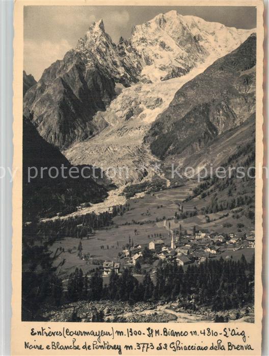 AK / Ansichtskarte Ghiacciaio Noire e Blanche de Penterey Ghiacciaio