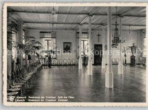 AK / Ansichtskarte Maeseyck Pensionnat des Ursulines Salle des Fetes Maeseyck