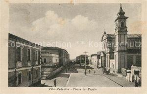 AK / Ansichtskarte Vibo_Valentia Piazza del Popolo Vibo_Valentia