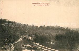 AK / Ansichtskarte Liverdun La Sortie du Tunnel Liverdun