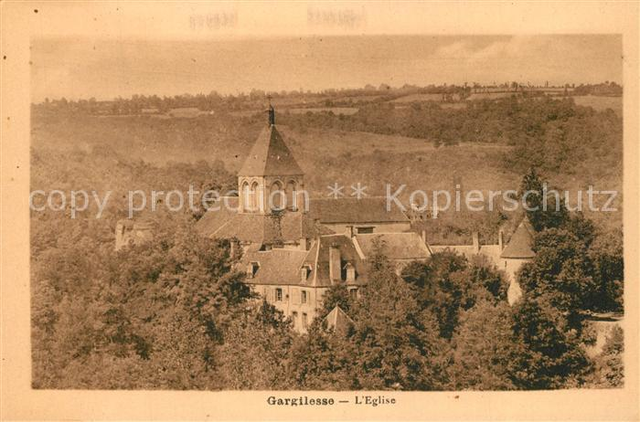 AK / Ansichtskarte Gargilesse Dampierre Eglise Gargilesse Dampierre