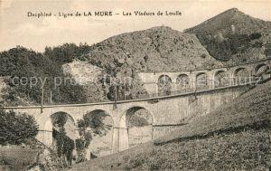 AK / Ansichtskarte La_Mure Viaducs de Loulla La_Mure