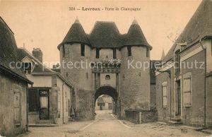 AK / Ansichtskarte Levroux Porte de Champagne Levroux