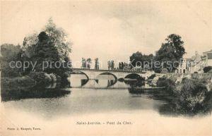 AK / Ansichtskarte Saint Avertin Pont du Cher Saint Avertin