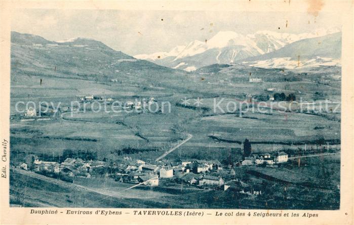 AK / Ansichtskarte Dauphine Fliegeraufnahme Tavervolles Dauphine