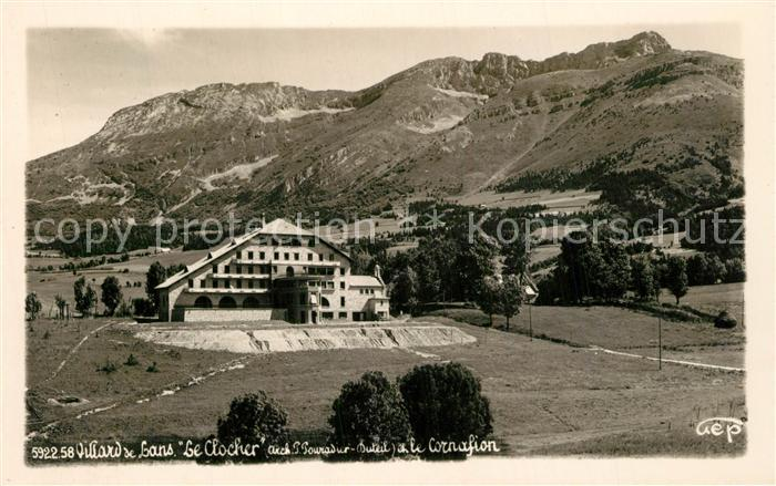 AK / Ansichtskarte Villard Bonnot Le Clocher Villard Bonnot