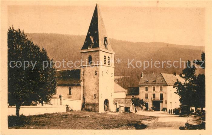 AK / Ansichtskarte Dauphine Le Sappey Eglise  Dauphine
