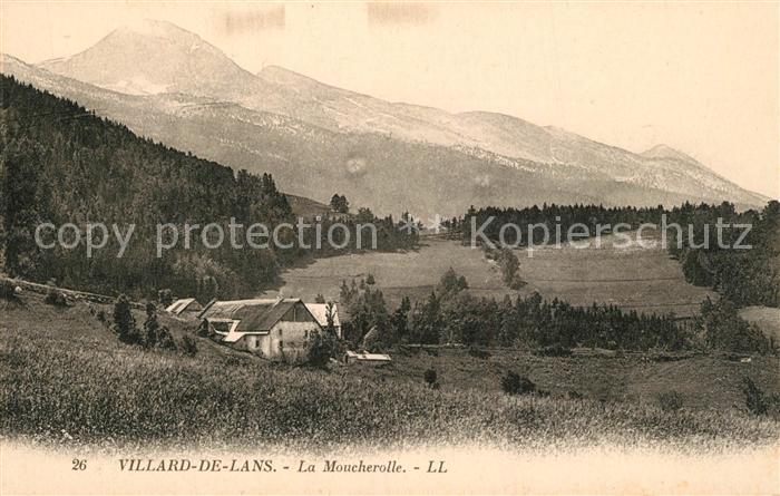 AK / Ansichtskarte Villard de Lans La Moucherolle Villard de Lans