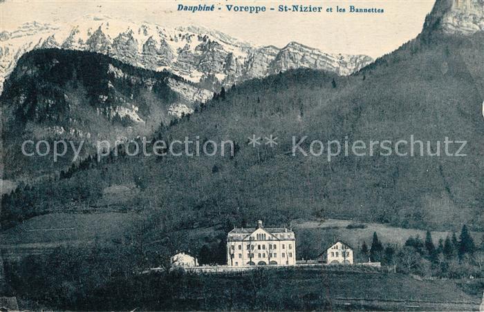 AK / Ansichtskarte Voreppe St. Nizier et les Bannettes Voreppe