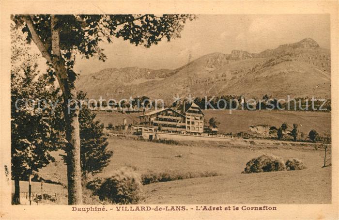 AK / Ansichtskarte Villard de Lans L`Adret et le Cornafion Villard de Lans