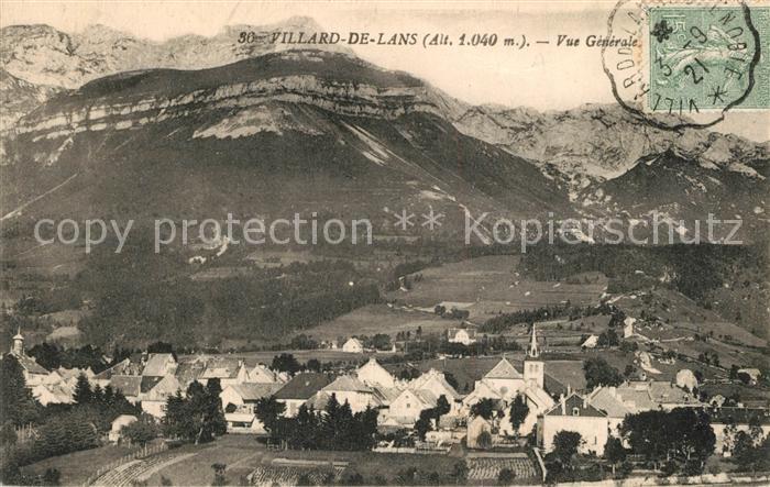 AK / Ansichtskarte Villard de Lans Fliegeraufnahme Villard de Lans