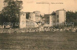 AK / Ansichtskarte Noiretable Chateau de la Merlee Noiretable