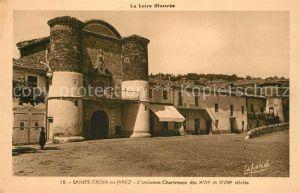 AK / Ansichtskarte Sainte Croix en Jarez Ancienne Chartreuse des XVIIe et XVIIIe siecles Sainte Croix en Jarez