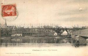 AK / Ansichtskarte Chatres sur Cher Vue generale Pont Chatres sur Cher