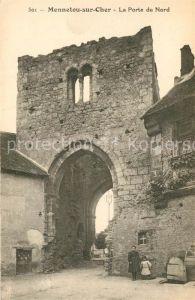 AK / Ansichtskarte Mennetou sur Cher La Porte du Nord Ruines Mennetou sur Cher