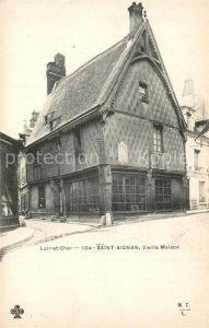 AK / Ansichtskarte Saint Aignan_Loir et Cher Vieille Maison Saint Aignan Loir et Cher
