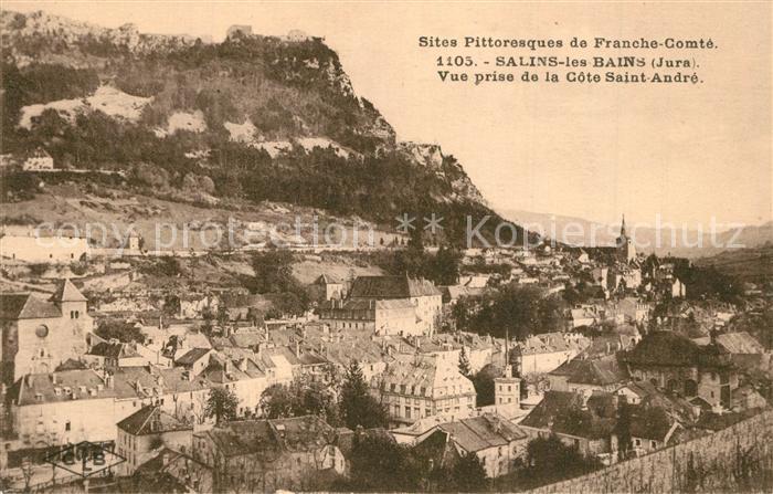 AK / Ansichtskarte Salins les Bains Vue prise de la Cote Saint Andre Salins les Bains