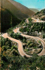 AK / Ansichtskarte Saint Claude_Jura Route a La Faucille les lacets de Septmoncel Saint Claude_Jura