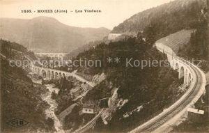 AK / Ansichtskarte Morez Panorama Viaducs Chemin de fer Morez
