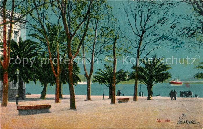 AK / Ansichtskarte Ajaccio Promenade Ajaccio