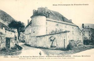AK / Ansichtskarte Nans sous Sainte Anne Chateau Mirabeau Nans sous Sainte Anne