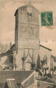 AK / Ansichtskarte Tonnoy Facade de l Eglise Tonnoy