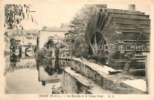 Segre Moulin et le vieux pont Segre
