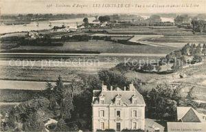 Les_Ponts de Ce Vue a vol d oiseau en amont de la Loire Les_Ponts de Ce