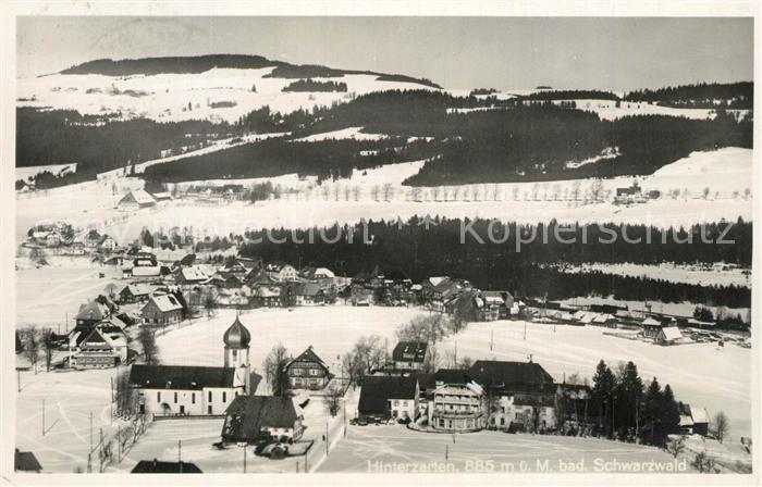 Hinterzarten Kirche Winterlandschaft Hinterzarten