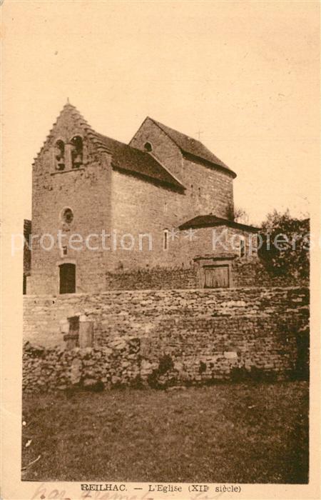 AK / Ansichtskarte Reilhac_Lot Eglise XIIe siecle Reilhac Lot