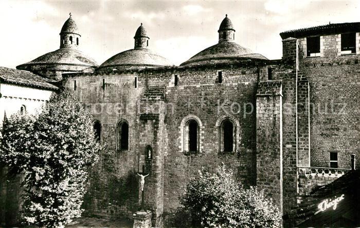 AK / Ansichtskarte Souillac Eglise abbatiale romane XIIe siecle 3 coupoles Tour carolingienne Souillac