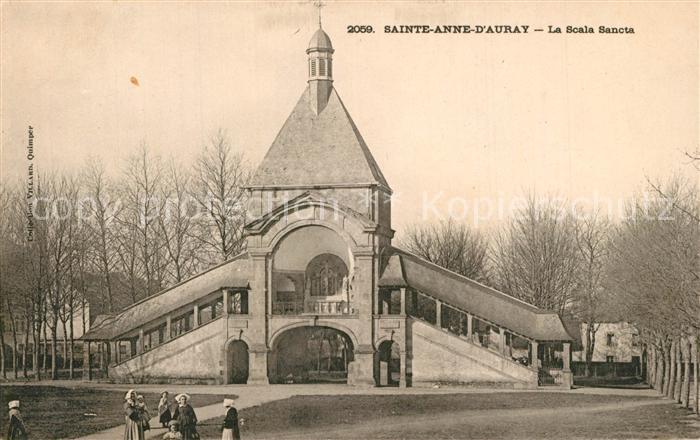 AK / Ansichtskarte Sainte Anne d_Auray La Scala Sancta Lieu de Pelerinage Wallfahrtsort Sainte Anne d Auray