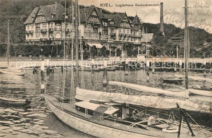 AK / Ansichtskarte Kiel Logierhaus Seebadeanstalt Kiel