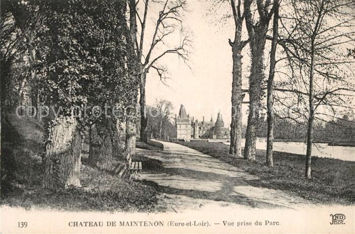 AK / Ansichtskarte Maintenon Chateau de Maintenon Vue prise du Parc Maintenon