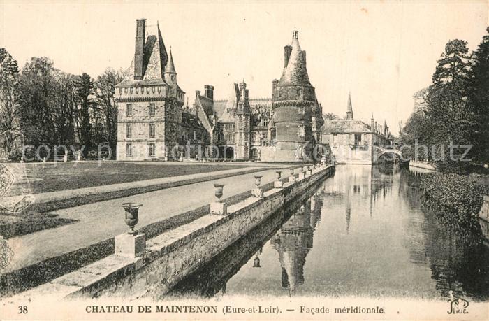 AK / Ansichtskarte Maintenon Chateau de Maintenon Facade meridionale Maintenon