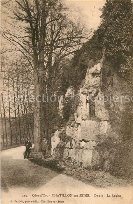 AK / Ansichtskarte Chatillon sur Seine Douix La Roche Chatillon sur Seine