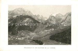 AK / Ansichtskarte Pralognan la Vanoise et les Glaciers Pralognan la Vanoise
