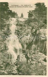 AK / Ansichtskarte Saillant Cascade de l Oullette Saillant