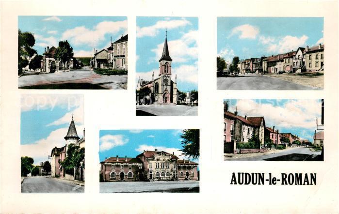 AK / Ansichtskarte Audun le Roman Vue partielle Audun le Roman