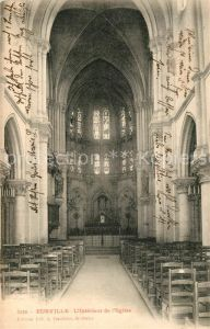 AK / Ansichtskarte Eurville Bienville Interieur de l Eglise Eurville Bienville