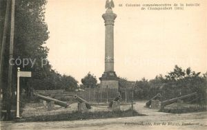 AK / Ansichtskarte Champaubert Colonne commemorative de la bataille de 1814 Champaubert