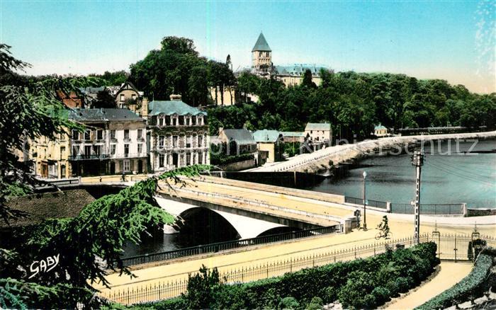 AK / Ansichtskarte Chateau Gontier Pont de Mayenne Eglise Saint Jean Chateau Gontier